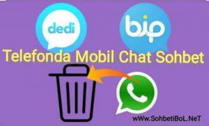 Telefonda Mobil Chat Sohbet